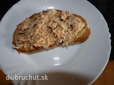 Fotorecept: Pikantná pomazánka z pečeného mäsa