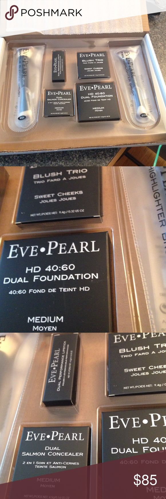 Eve Pearl Makeover kit. Sold out on QVC Brand new. No longer available $268 value sold  separately. Eve Pearl Makeup