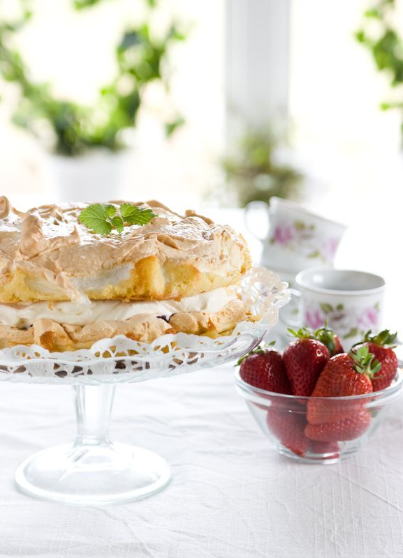Swedish Summer Cake - this is an amazingly light, wonderful cake. Best when baked on a sunny day.