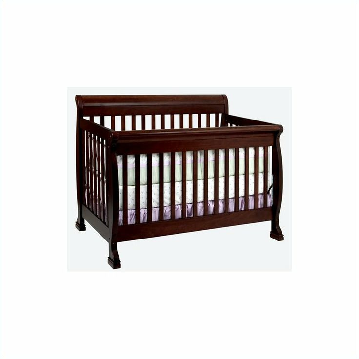 DaVinci Kalani 4-in-1 Convertible Wood Baby Crib w/ Toddler Rail in Espresso - M5501Q - Lowest price online on all DaVinci Kalani 4-in-1 Convertible Wood Baby Crib w/ Toddler Rail in Espresso - M5501Q