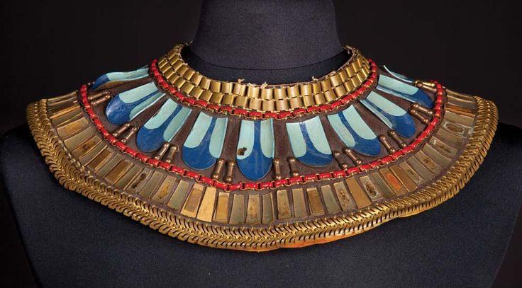 Egyptian revival Les Dix Commandements - 1956 - Accessoires - Bijoux - Collier - Vincent Price - Baka