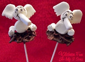 Dr Seuss' Horton Hatches the Egg--made with marshmallows