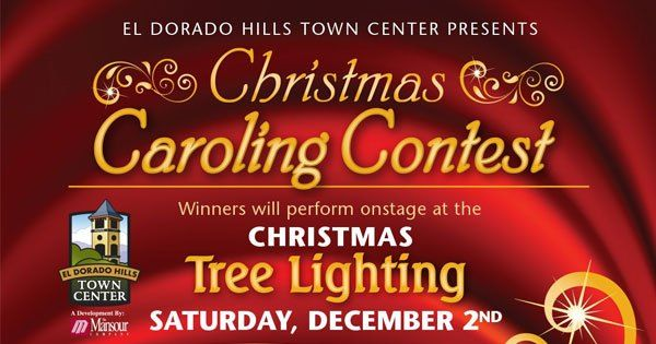 Enjoy a live band and watch the winners of the Caroling Contest on December 2 at El Dorado Hills Town Center. There will be cookies provided by Nugget Markets and hot chocolate provided by Cold Stone Creamery. #Sacramento4kids #Sacramento #Kids #Events #ThingsToDo