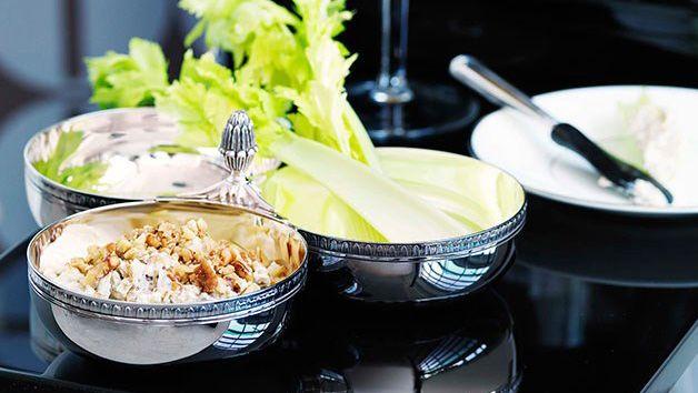Caramelised onion, Roquefort and walnut dip recipe - 9Kitchen