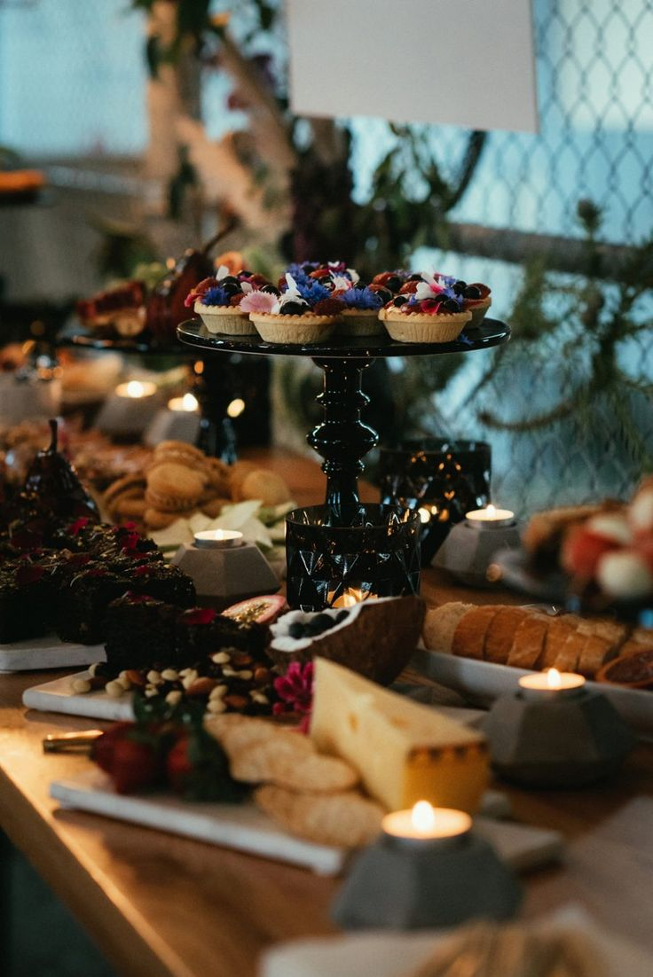 decadent dessert grazing spread by Sukar