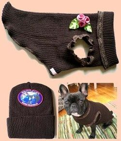 Doggie Sweater from A Knitted Cap!