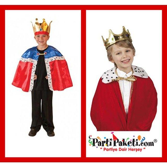Kral kostümlerimiz stoklarımızla sınırlı... Tükenmeden Partipaketi.com adresimizi tıklayın :) #PartiPaketi #Parti #Eğlence #Kutlama #PartiMalzemeleri #PartiÜrünleri #Party #PartiZamanı #Erkekçocukpartitemaları #erkekdoğumgünü #çocukpartisi #kidsparty #instaparty #boysparty #boyspartyideas #erkekçocukdoğumgünü #erkekçocukpartifikirleri #boysbirthdayparty #erkekdoğungünüsüsleri #partyboy #birthdayparty #kral #king #kostüm