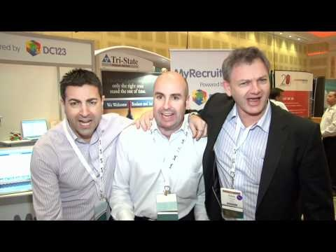 MyRecruitOnline's founders and Directors enlighten ASA Staffing World attendees with the MyRecruitOnline song. Doesn't every good recruitment ATS have a song?