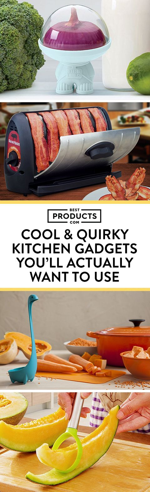 Fun doesn't always have to mean frivolous! Almost all of these gadgets and gizmos are actually useful, with the exception of a few that are just too cute or ridiculous to pass up.