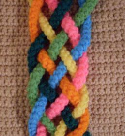 Craftybegonia's Pursenality Shoppe: Lilly's Braid