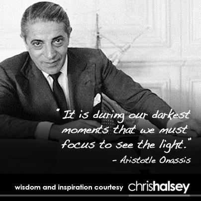 Sage Advice From Aristotle Onassis Interesting Quotes Aristotle Onassis Leadership Quotes