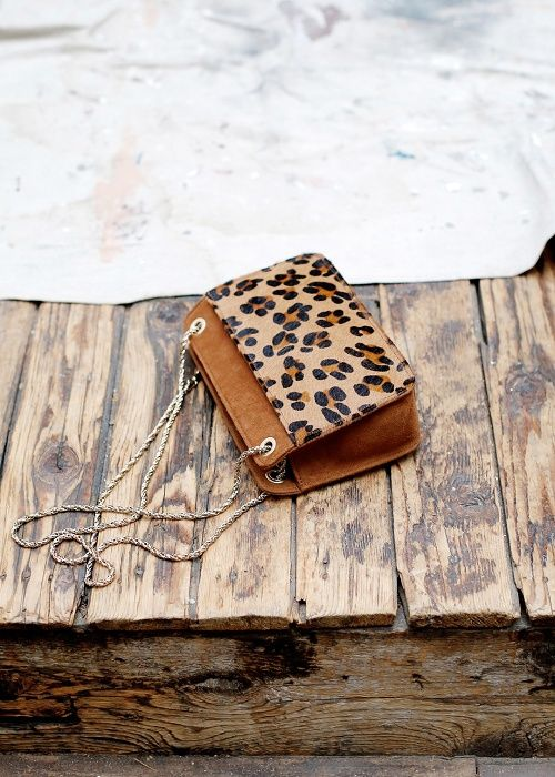 Sac Mini Leopard Abelle // Collection Printemps Été Sezane