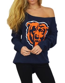 Touch by Alyssa Milano Chicago Bears Britt Sweater | SportyThreads.com