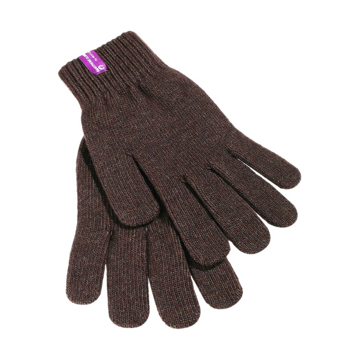 Smartphone Gloves Lambswool Edition Brown