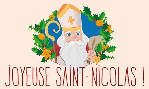 Carte virtuelle : Joyeuse Saint-Nicolas