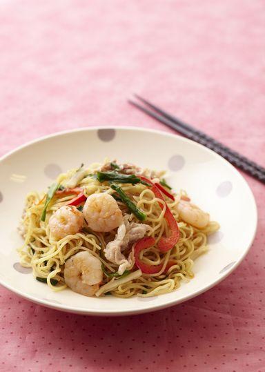 上海風焼きそば のレシピ・作り方 │ABCクッキングスタジオのレシピ | 料理教室・スクールならABCクッキングスタジオ