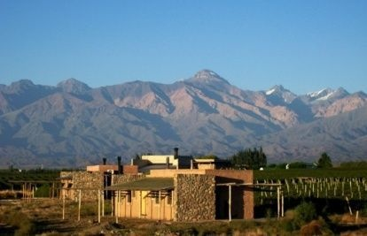 Tupungato Divino, In the Valley of Mendoza. Only two rooms and a chef to die for!  Make sure you go with that special person to share all that delicious Malbec!