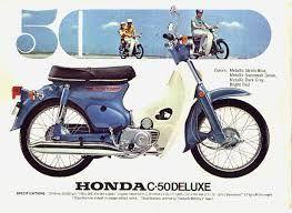 Honda C 50 Cub.