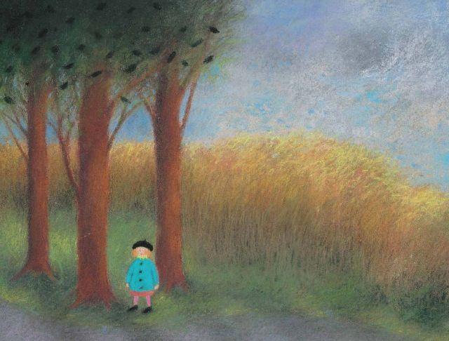 Tree. Illustration by Kristiina Louhi.