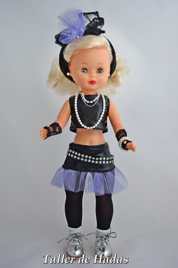 Nancy Diva como Madonna en los 80.