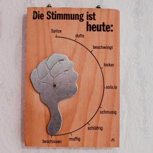 Alltags-Pessimismus: Stimmungsbarometer