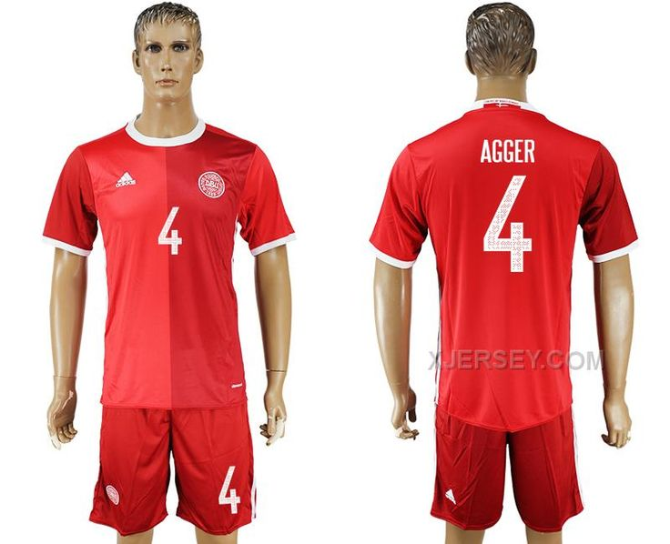 http://www.xjersey.com/201617-denmark-4-agger-home-soccer-jersey.html 2016-17 DENMARK 4 AGGER HOME SOCCER JERSEY Only $35.00 , Free Shipping!