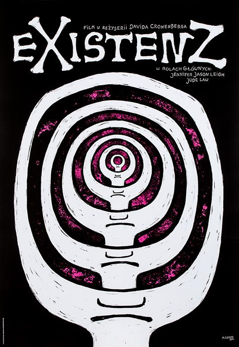 Marta Szmyd, eXistenZ (Directed by David Cronenberg. With Jude Law, Jennifer Jason Leigh, Ian Holm), 2015, Size: B1