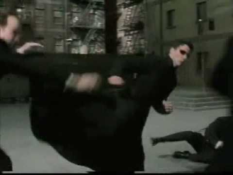 The Matrix Reloaded Agent Smith Fight - YouTube