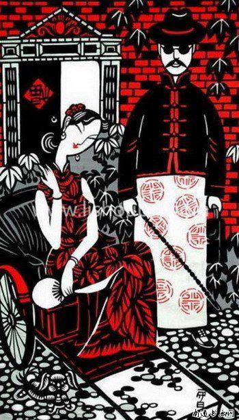 李守白,現代重彩畫家、海派剪紙藝術大師,1962年出生於上海藝術世家。 - ☆平平.淡淡.也是真☆  - ☆☆。 平平。淡淡。也是真。☆☆ 。