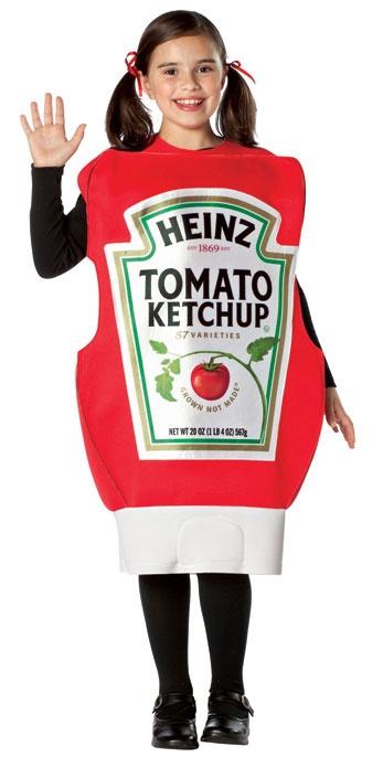 Heinz Ketchup Costume Squeeze Bottle Costume