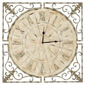 Fir wall clock.  This could work.
