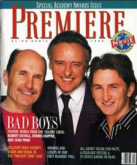Bad Boys With Sean Penn: Dennis Hopper, Robert Duvall, Sean Penn, Colors (1988