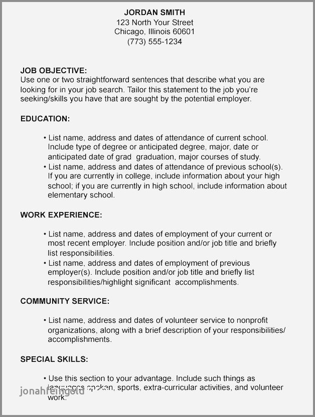 67 Luxury Collection Of Sample Resume Objective Phrases Resume