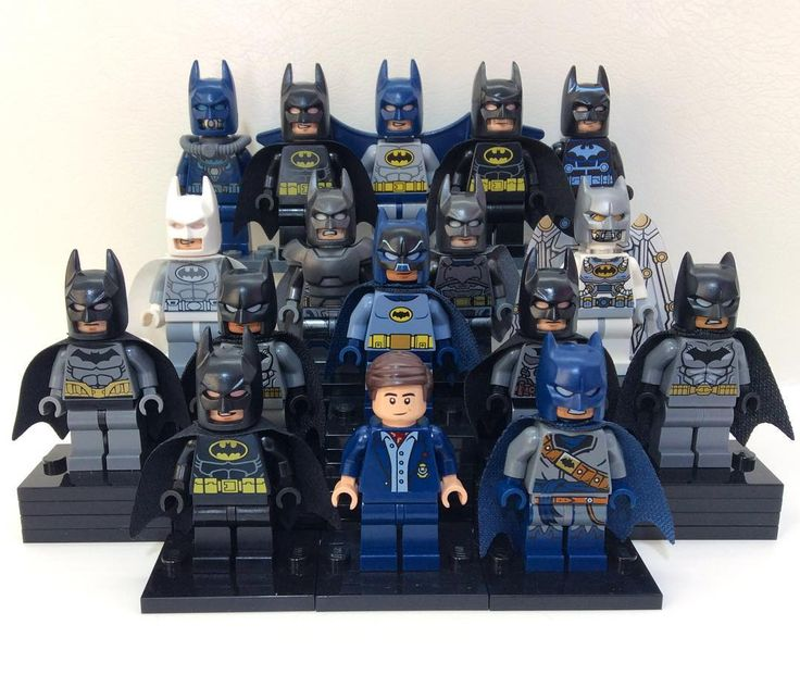 My Lego Batman Minifigure Collection (updated) by mini_go_figure - Visit to grab an amazing super hero shirt now on sale!