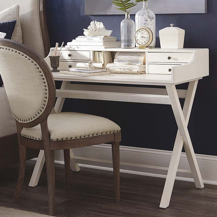 The Artisanal Desk By Bassett Furniture Is Inspired From Vintage British  Campaign Furniture And Royal French
