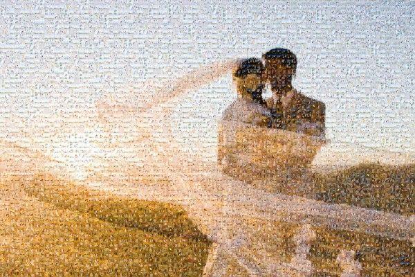 Wedding Mosaic- awesome anniversary gift idea!