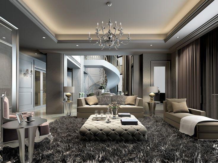 36 Creative Living Room Interior Designs