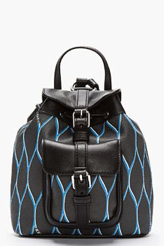 KENZO Black Leather-Trimmed Mini Backpack on shopstyle.com                         descargar musica mp3 gratis