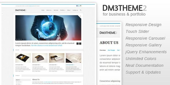 Dm3theme2 - Business and Portfolio (Responsive) - Business Corporate