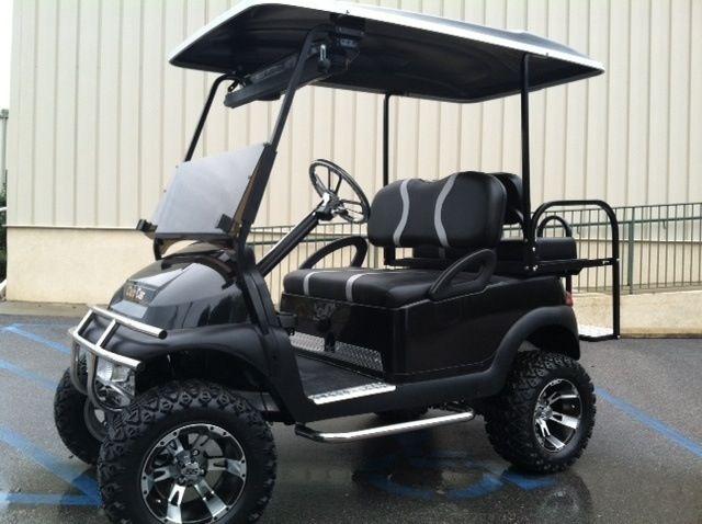 Custom Golf Cart - Night Hawk