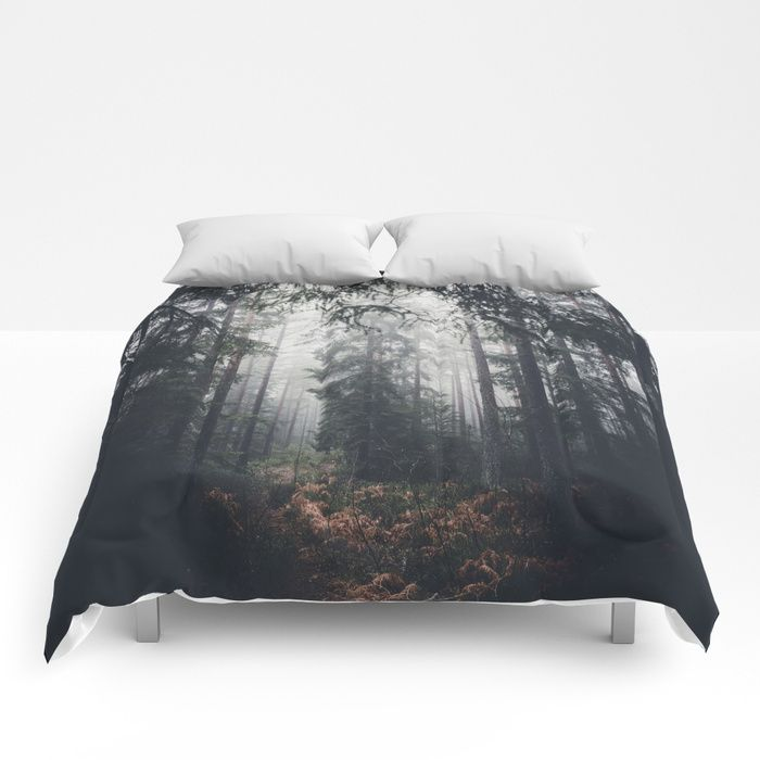 Dark paths Comforters by HappyMelvin | Society6