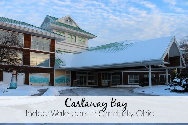Castaway Bay Indoor Waterpark in Sandusky, Ohio offers 82 degree temperatures all year round.
