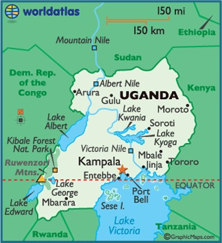 Uganda! I never thought I'd one day go to Africa since I didn't think I'd like it... well I was WRONG on so many levels. We even had riots breaking out for the first time in 17 years while we were there, and still I didn't feel unsafe for a minute because the people made sure I didn't. This country will always hold a dear spot in my heart!!!