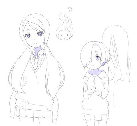 「Tokyo 7th シスターズ落書き」/「kuro/円居 雄一郎」の漫画 [pixiv]