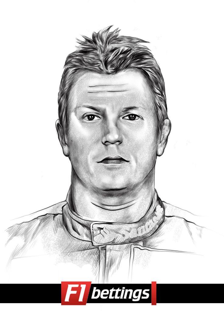 F1 driver Kimi Raikkonen f1-bettings.com