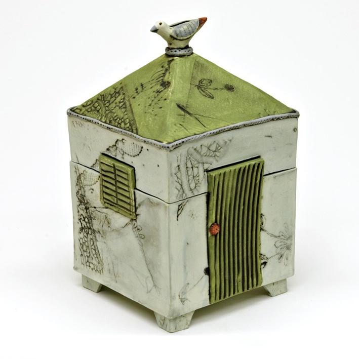 'The green door' Dream box by Catherine Brennon www.underbergstudio.co.za