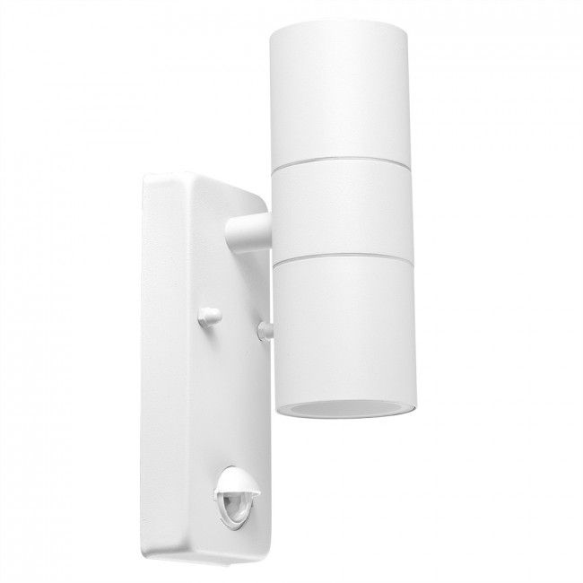 Pir Up Down Wall Light White Wall Lights Up Down Wall Light Outdoor Wall Lighting