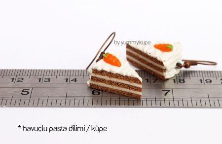 Havuçlu Pasta Dilimi   #fashion #design #miniature #food #art #miniaturefoodart #polymerclay #clay #minyatur #polimerkil #kil #nutella #tasarim #taki #sanat #moda #sokak #tutorial #yummykupe #mold #kalip #nasil #bileklik #kolye #kupe #yuzuk #aksesuar #kadin #ring #earring #accesorie #necklace #carrot #havuc #havuclupasta #pasta #pie