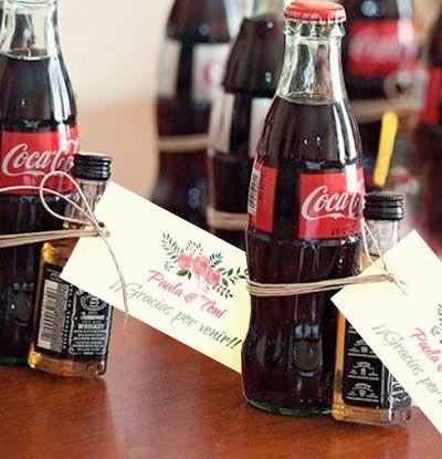 cocacola minibotella de whisky etiqueta comotinta ud la combinacin ms original para regalar