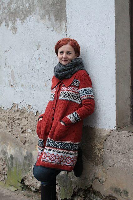 Ravelry: virginute's Terracota Vintage Cardigan